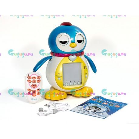 Интерактивный пингвиненок Тиша с экраном - поет, танцует, говорит, обучает английскому, понимает речь