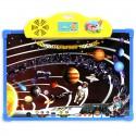 """Детский интерактивный обучающий плакат """"Удивительный космос"""" и доска для рисования"""