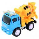 Машинка грузовик-бетономешалка с инерционным механизмом