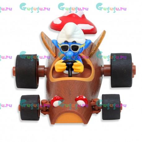 Радиоуправляемая игрушечная машина из мультфильма Смурфики - Красавчик