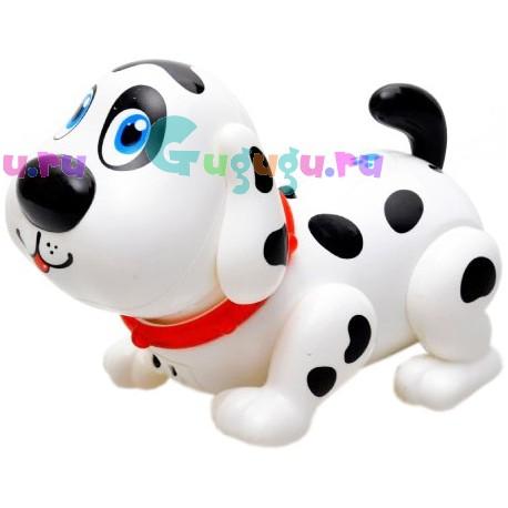 Интерактивная собака робот Лакки - говорит, танцует, играет с малышом в догонялки
