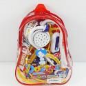 Детский игрушечный набор доктора №1: 17 предметов в рюкзаке