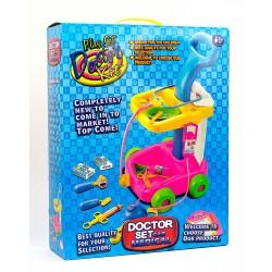 Детский игрушечный набор: Тележка доктора (52 см)