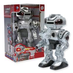Интерактивный стреляющий дисками робот Серебряный всадник (свет, звук, эффекты)