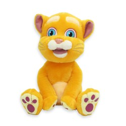Интерактивный плюшевый кот Кузя (повторяет, поёт, шутит, распознает голос и отвечает)
