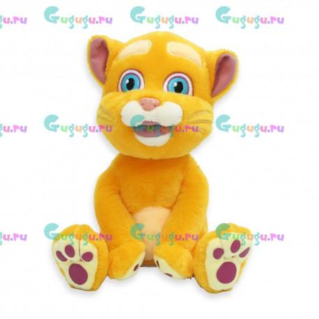 Интерактивный плюшевый кот Кузя: повторяет за малышом, поёт, шутит, распознает голос и весело отвечает