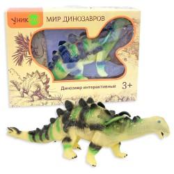 Динозавр Туоянгозавр: интерактивная игрушка с реалистичной кожей
