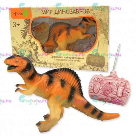 Спинозавр - удивительный интерактивный динозавр с реалистичной кожей на радиоуправлении