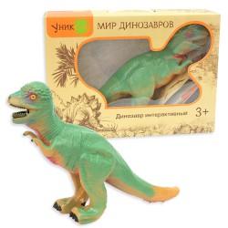 Динозавр Пахицефалозавр: интерактивная игрушка с реалистичной кожей