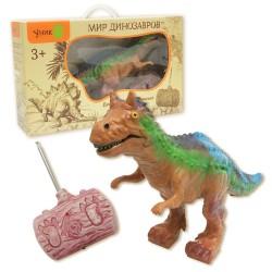 Динозавр Карнотавр: игрушка на радиоуправлении с реалистичной кожей