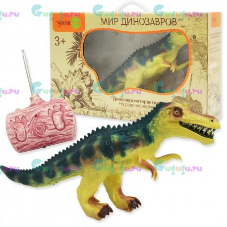 Камптозавр - интерактивная игрушка динозавр с реалистичной кожей на радиоуправлении