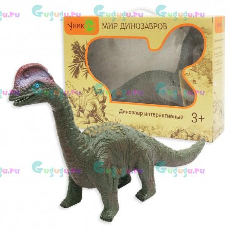Брахиозавр - удивительная интерактивная игрушка динозавр с реалистичной кожей