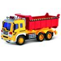 Машина грузовик-самосвал с фрикционным механизмом (свет и звук)