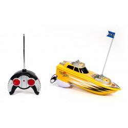 Детская интерактивная игрушка катер Чайка на радио-управлении