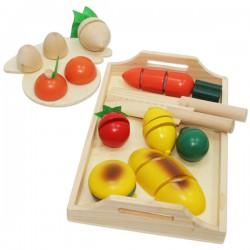 Деревянный набор юного поваренка - Овощи