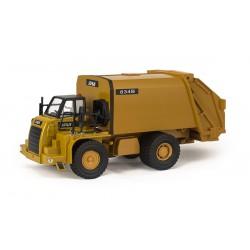 Машина мусоровоз металлическая с откидывающимся кузовом (свет, звук)