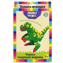 """Декорирование надувной игрушки из бумаги """"Динозавр"""""""
