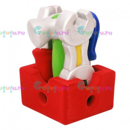 Детский набор инструментов для мальчиков из каучука с флок покрытием