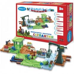 Детская железная дорога конструктор Серпантин: Торговый порт