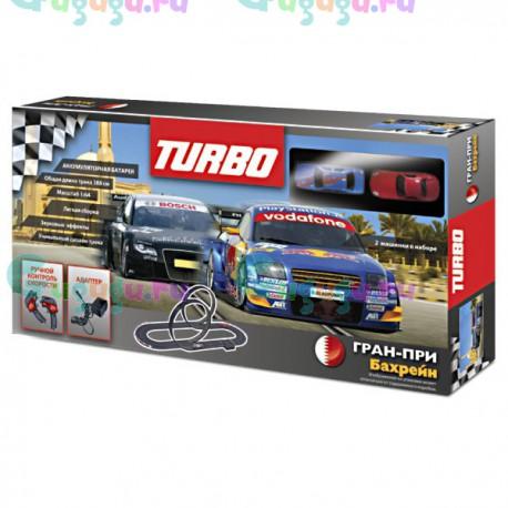 Детская игра, Интерактивный гоночный трек Гран-при Бахрейн (2 машинки, длина трека 388 см)