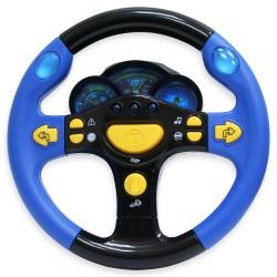 Детская игрушка, детский интерактивный руль со звуком: Я тоже рулю