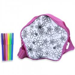 Лавка Чудес: Творческий развивающий набор для раскрашивания сумки Звезда