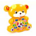 Детская развивающая интерактивная игрушка Весёлый мишка
