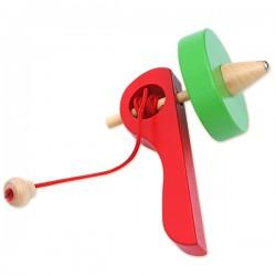 Детская деревянная игрушка Лесная сказка: Волчок
