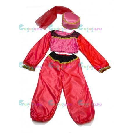 Детский карнавальный костюм Великолепная Жасмин для детских праздников