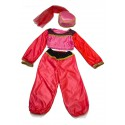 """Карнавальный костюм """"Великолепная Жасмин"""" для детских праздников 7-9 лет (122-134см)"""
