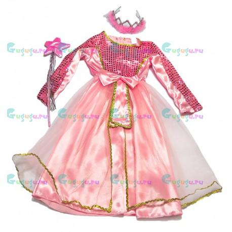 Детский карнавальный костюм для девочек Морская волшебница для детских праздников