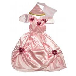 """Карнавальный костюм """"Розовая принцесса"""" для детских праздников (7-9 лет)"""