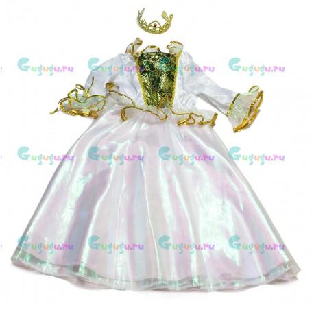 Детский карнавальный костюм для девочек Загадочная принцесса для детских праздников (4-6 лет)
