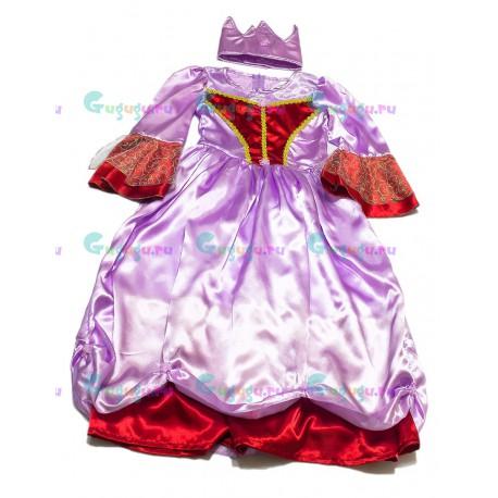 Детский карнавальный костюм для девочек Королева страны Грез для детских праздников (7-9 лет)