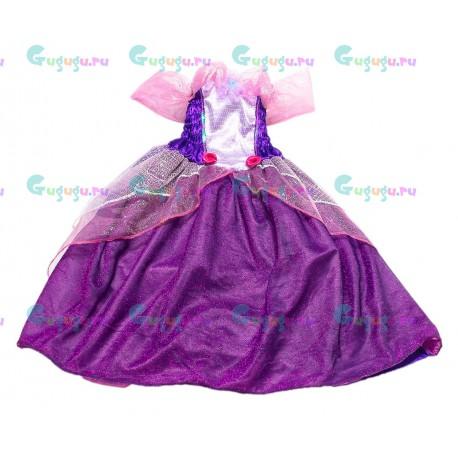 Детский карнавальный костюм для девочек Изящная принцесса для детских праздников (7-9 лет)