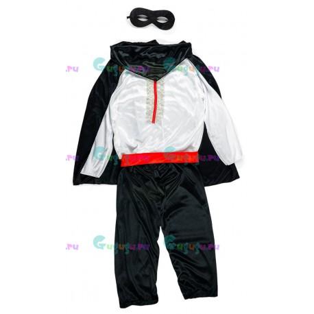 Детский карнавальный костюм Зорро для праздников