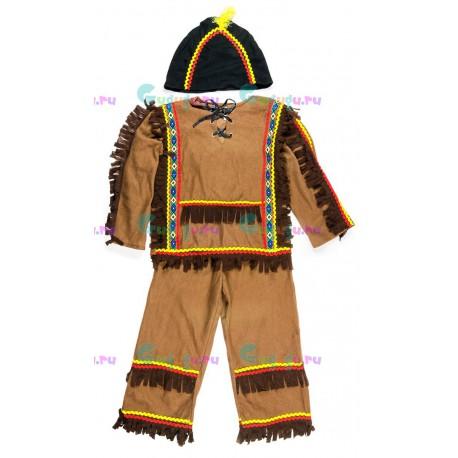 Детский карнавальный костюм Индеец для праздников