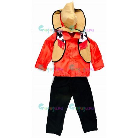 Детский карнавальный костюм Ковбой Дикого Запада для праздников