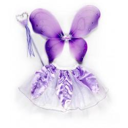 """Карнавальный костюм розовый """"Фея"""" для детских праздников"""