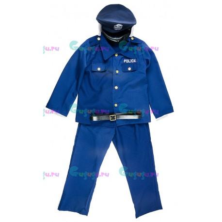 Детский карнавальный костюм Полицейский для праздников