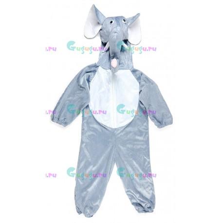 Детский карнавальный костюм Веселый слоненок для праздников