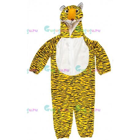 Детский карнавальный костюм Полосатый тигренок для праздников