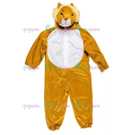 Детский карнавальный костюм Озорной львенок для праздников