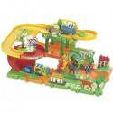 Детская железная дорога конструктор Серпантин: Зоопарк