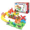 Детская железная дорога конструктор Серпантин: Парк Юрского периода