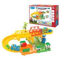 Детская железная дорога конструктор Серпантин: Мост