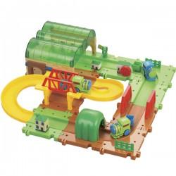 Детская железная дорога конструктор Серпантин: Депо