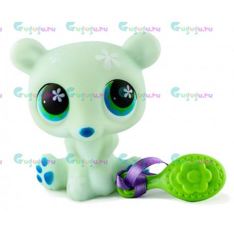 Детская игрушка LPS, Полярный мишка - моя любимая зверюшка с расческой