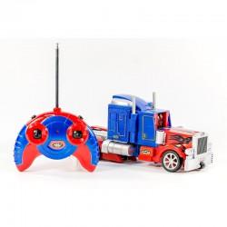 Робот грузовик-трансформер на радиоуправлении, интерактивный, ОПТИМУС-ПРАЙМ, Ростест