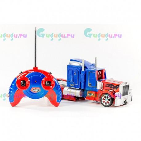 Робот ОПТИМУС-ПРАЙМ грузовик-трансформер на радиоуправлении, интерактивный